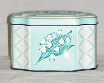Decorative Tin Containers - Made in England