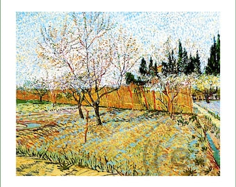 fabric panel - Vincent van Gogh (16). For sewing, patchwork, quilting.
