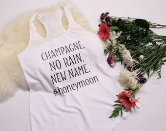 Bride Shirt - Honeymoon Shirt - Champagne Vibes - Honeymoon Vibes - Bridal Shower Gift - Bride Gift - Bride Shirt - Bride Tank Top