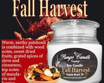 Fall Harvest Soy Jar Candle (16 oz.)