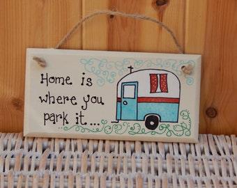 Gift for Caravan lovers, Caravan sign, Campervan sign, Gifts for parents, Gifts for her, Gifts for him, Motorhome, Grandparents