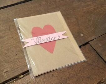 Kraft Paper Classic Valentine