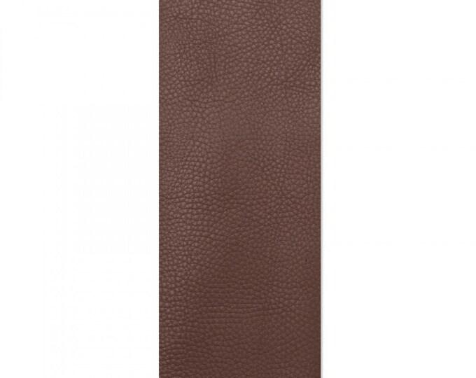 "New! Sizzix Leather Piece - 3.5"" x 9-1/8"" Dark Brown (Cowhide)"