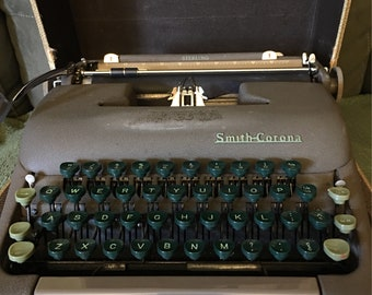 Smith Corona Sterling Typewriter in Box