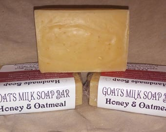 Goats Milk Soap Bar