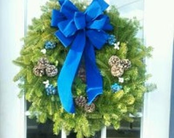 Maine Balsam Blueberry Holiday Wreath