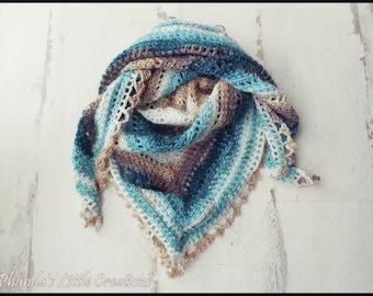 Stardust Taiga Shawl - Women's Crochet Scarf