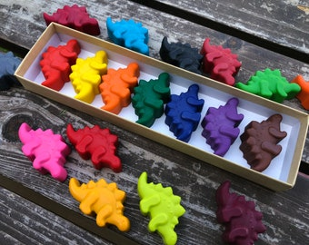 Dinosaur Crayons - Dinosaur Party Favors - Kids Gifts - Gifts For Kids - Kids Birthday Gifts - Classroom Party Favor - Kids Party Favors