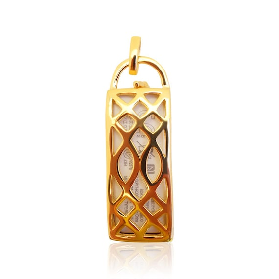 Pendant Lea - Sony SmarBand Jewelry - made from SILVER - 18 GOLD plated