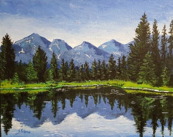 Mountain Lake #3