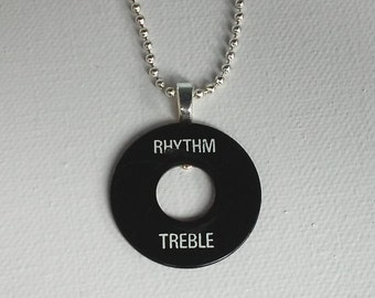 Rythme Treble - Gibson Unique Switchplate Collier pendentif