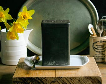 Vintage English Rowntree Cocoa Tin