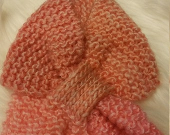 Hand Knit Scarf for Children
