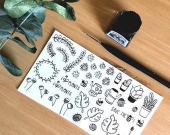 Sticker set ' Garden '