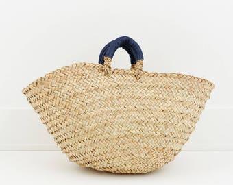 Garden Harvest Basket, Dark Blue