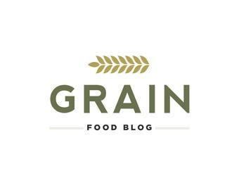 Food Blogger Logo - Premade Logo - Blogger Logo - Restaurant Logo - Professional Logo - Small Business Logo - Minimal Logo - Custom Logo