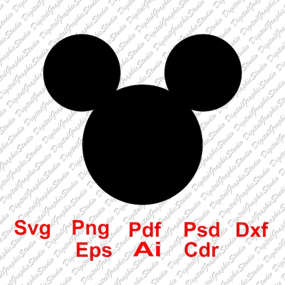 70 Off Mickey Mouse Svg Mickey Head Svg Mickey Ears