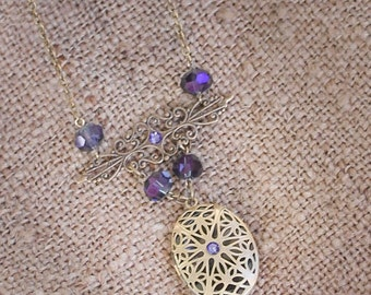 Essential Oil Diffuser Necklace / Aromatherapy Jewelary
