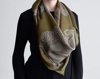 Wrap Yourself in Buddha Silk Wool - Herb