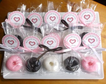 Donut Baby Shower - Donut Party Favors , Donut Baby Shower Favors, Donut Favors, Donut Party - Set of 10