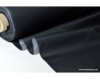 fabric by insulating thermal and sound black .x 1 m