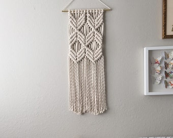 Macrame Patterns/Macrame Pattern/Macrame Wall Hanging Pattern/Wall Hanging Pattern/DIY/Craft/Name: Double X