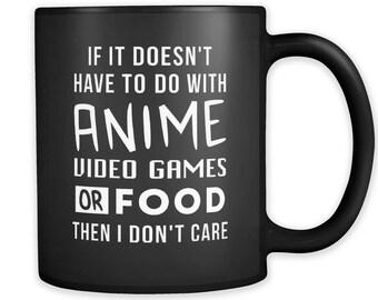 Anime Mug Video Game Mug Anime Gifts Video Game Gifts Gaming Mug Gaming  Gift Anime Coffee