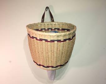 Plastic Bag Dispenser | Plastic Bag Organizer | Plastic Bag Storage Basket | Plastic Bag Holder | Grocery Bag Storage | Kitchen Accessories