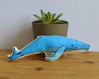 Silkscreen Whale Toy