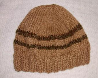 Soft striped Hat