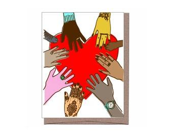 Heart + Hands Card