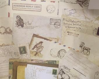 Cute Mini vintage envelopes