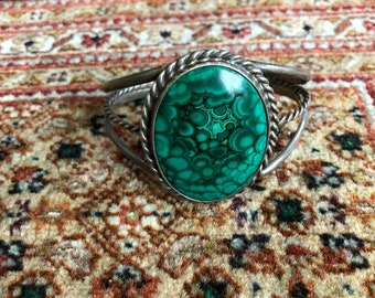 Silver Turquoise Cuff