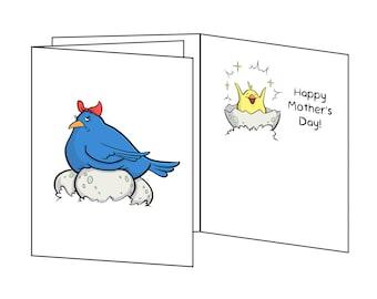 Mother's Day - Momma Bird