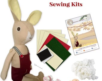 Kwiggly Bunny Sewing Kit