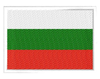 Bulgaria Embroidered Patch