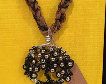 Tree of Life Bead Pendant Necklace