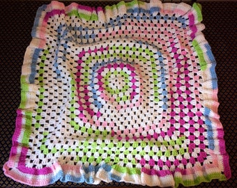 Handmade Retro Style Blanket