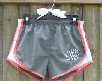 Monogramed Women's Athletic Short
