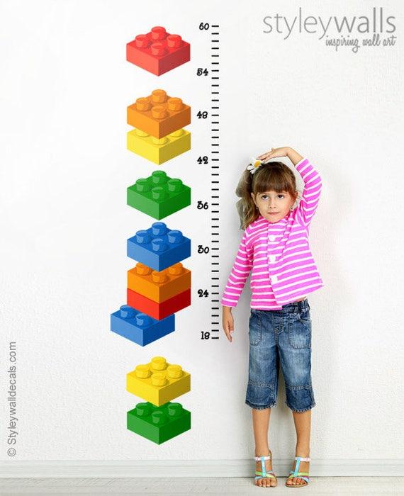 Bausteine lego wandtattoo wachstum diagramm wandtattoo - Lego wandtattoo ...