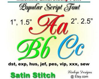 Download Machine Embroidery Monogram Alphabet:  Popular Font.