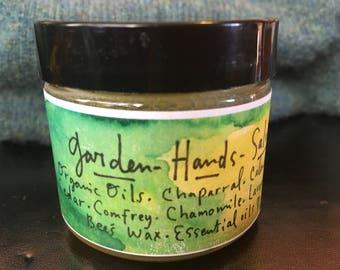 Garden Hand's Salve-  2oz