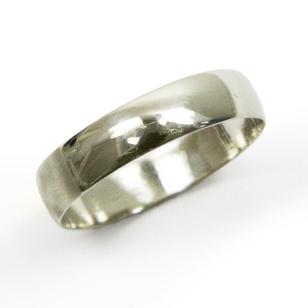 Gold wedding ringmen wedding band14k white gold wedding
