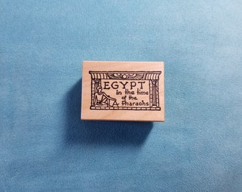 Toybox Rubber Stamps - Egypt Quote/Text - Rubber Stamp