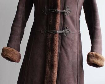 Vintage 70s sheepskin coat