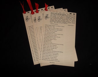 Stork Shower Party Games, 1957, Set of 5 pages of the same game, Front Page Mother Goose