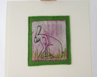 animal lover art, original hare art, sitting hare, art for the home, ready to frame art, Hare and Buttercups