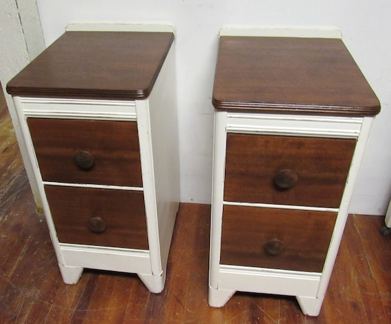 Vintage night stands or end tables