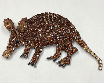 Unique Armadillo Pin