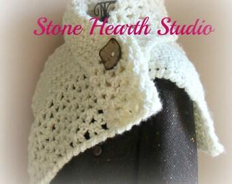 Darilynn Crochet Neck Scarf Pattern,Chunky Crochet Scarf,Easy Pattern!,Chic!,Urban!,Womens Scarf,Crochet Cowl Pattern,Versatile,Great Gift!